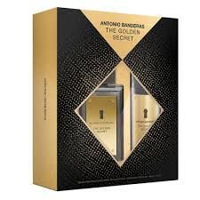 Kit Antonio Banderas The Golden Secret 100ml + Desodorante-150ml