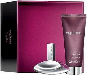 Kit Perfume Euphoria Calvin Klein Eau de Parfum 100ml + Loção corporal 100 ml