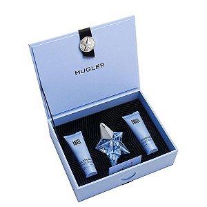 Kit Angel Thierry Mugler Eau de Parfum - Perfume Feminino 25 ML + Gel de Banho 50 ML + Loção Corporal 50 ML