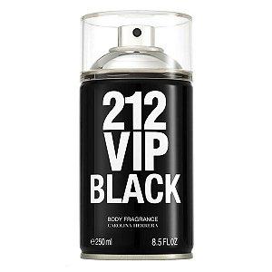 212 Vip Men Black Carolina Herrera - Body Spray - 250ml
