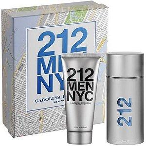 Kit Perfume 212 Men Eau de Toilette 100ml + After Shave 100ml