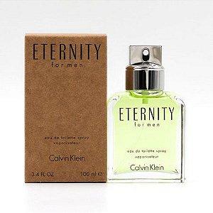 Tester Eternity For Men Calvin Klein Eau de Toilette - Perfume Masculino 100 ML