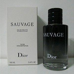 Tester Sauvage Dior - Perfume Masculino Eau de Toilette 100ml