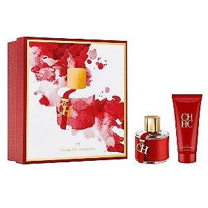 Kit Ch Carolina Herrera Eau de Toilette  - Perfume Feminino Ch 100 ml + Loção Corporal Ch 100 ml
