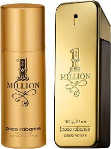 Kit 1 Million Paco Rabanne - Perfume EDT  100 ml + Desodorante 150 ml