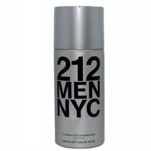 Desodorante 212 Men Nyc Carolina Herrera - Desodorante Masculino 150 ml