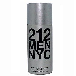 Desodorante 212 Men Nyc Carolina Herrera - Desodorante Masculino 150 ml