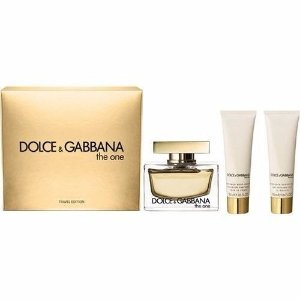 Kit The One Dolce&Gabbana - Eau de Parfum 75 ml + Loção Corporal 50 ml + Gel de Banho 50 ml