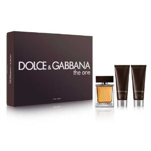 Kit The One  Dolce & Gabbana - Eau de Toilette 100 ml + Pós Barba Bálsamo 50 ml + Gel de Banho 50 ml