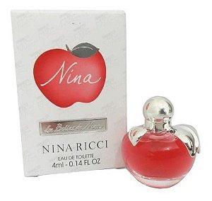 Miniatura Nina Eau de Toilette Nina Ricci - Perfume Feminino  4 ML