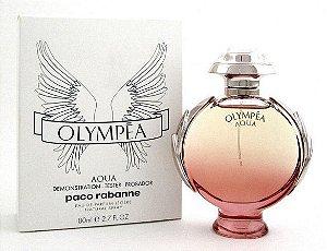 Tester Olympéa Aqua Paco Rabanne Eau de Parfum - Perfume Feminino 80ml