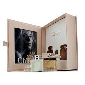 Kit Perfume Chloé Feminino Eau de Parfum 75ml + Miniatura 5ml + Hidratante 100ml