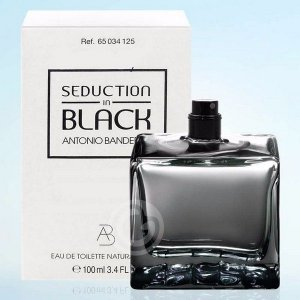 Téster Seduction Black Men Antonio Banderas - Perfume Masculino - Eau de Toilette 100 ML