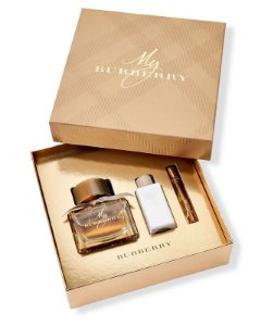 Kit My Burberry Perfume Feminino - Eau de parfum 90 ML + Loção Corporal 75 ML + Perfume 7,5 ML