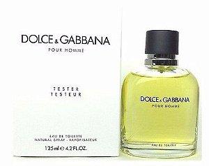 Tester Dolce & Gabbana Pour Homme Dolce & Gabbana - Perfume Masculino - Eau de Toilette 125 ML