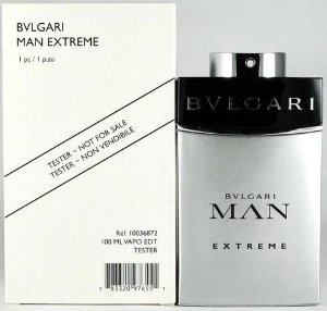 Tester Bvlgari Man Extreme Eau De Toilette Natural Spray 100 Ml
