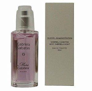 Tester Miss Gabriela Night Gabriela Sabatini Perfume Feminino 60 ml