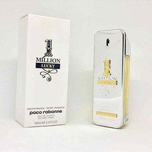 Tester 1 Million Lucky Paco Rabanne Eau de Toilette - Perfume Masculino 100ml