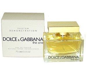 Téster The One Dolce & Gabbana Eau de Parfum - Perfume Feminino  75 ML