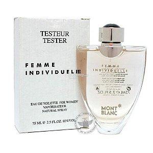 Tester Femme Individuelle Montblanc Eau de Toilette - Perfume Feminino