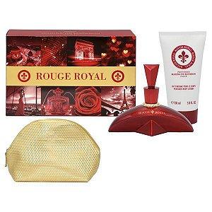 Kit Rouge Royal Marina de Bourbon Feminino - Eau de Parfum 100ml + Loção Corporal 100ml + Nécessaire
