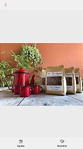 Café Artesanal em Pó ou Grão Orgânico 250 gramas