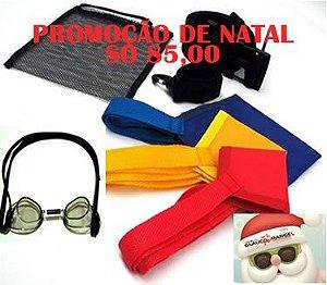 PROMOÇÃO DE NATAL KIT PARAQUEDAS + ÓCULOS TIPO SUECO