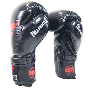 Luva Boxe Carbon Preta - Full Fighter