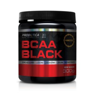 Bcaa Black 300g Sem Sabor - Probiotica