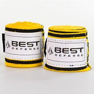 Bandagem Metal Maori Amarelo - Best Defense