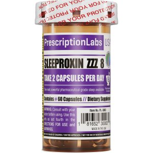 Sleeproxin ZZZ 8 (60Caps) - Prescription Labs