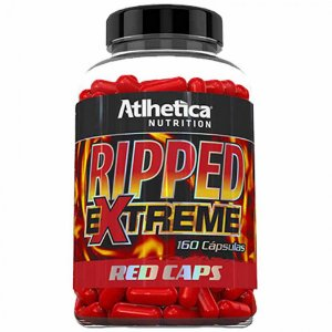 Ripped Extreme Red Caps - 160 cápsulas - Atlhetica Nutrition