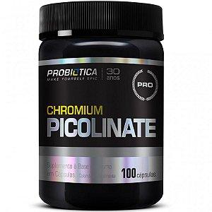 Picolinato de Cromo 100 cápsulas - Probiótica