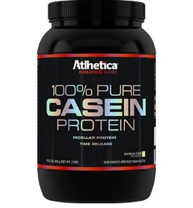 100% Pure Casein Protein 900g - Atlhetica Nutrition