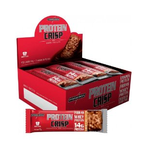 Protein Crisp Bar (12 Unidades) - Integralmedica