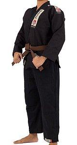 Kimono Jiu Jitsu Adulto Preto - Torah