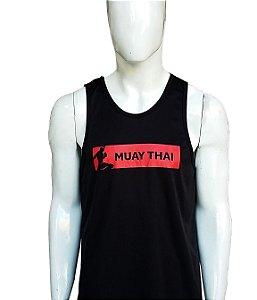 Regata Muay Thai Preta