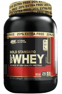 100% Whey Gold Standard 20% Extra Free - Optimum Nutrition