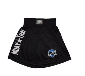 Short Muay Thai Preto - Punch