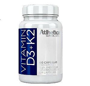 Vitamin D3 + K2 60 caps - Atlhetica