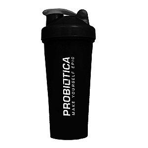 Coqueteleira 600 ml Preta - Probiótica
