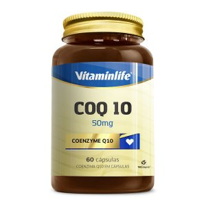 COQ 10 - 50 mg - 60 Caps - Vitaminlife
