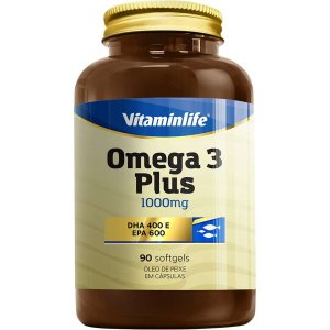 Omega 3 Plus 1000 mg 90 softgels - Vitaminlife