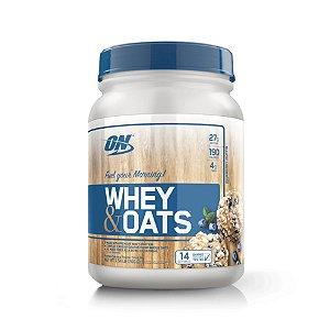 Whey e Oats 700g - Optimum Nutrition