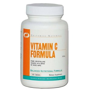 Vitamin C Formula 500mg 100 tabletes - Universal Nutrition