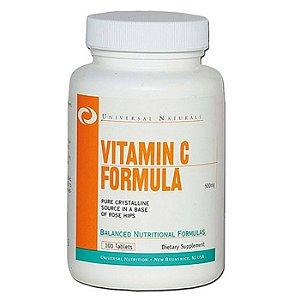 Vitamin C Formula 500mg 100 tabletes - Universal Nutrition