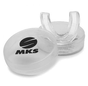 Protetor Bucal transparente com estojo - MKS
