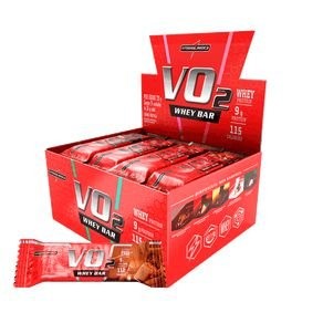 VO2 Whey Bar CX 24 unidades - Integralmedica