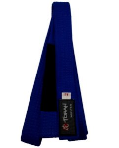 Faixa Jiu Jitsu Azul com ponta - Torah