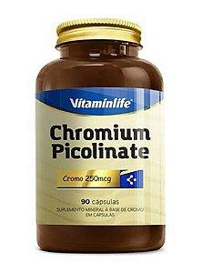 Picolinato de Cromo 90 cápsulas - Vitaminlife